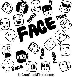 Face Doodle for kids