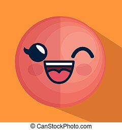 face emoticon character icon