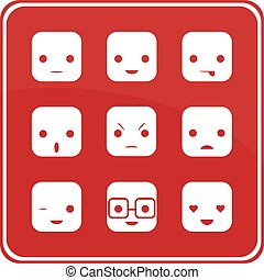 Face Expression Icons