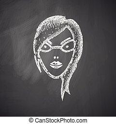 face girl icon