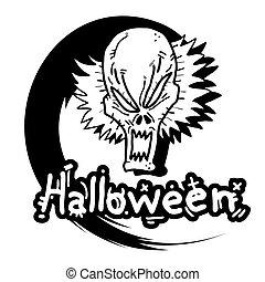 Face halloween