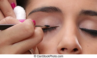 Face Makeup Black Eyeliner