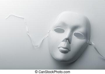 Face mask - Closeup of a face mask