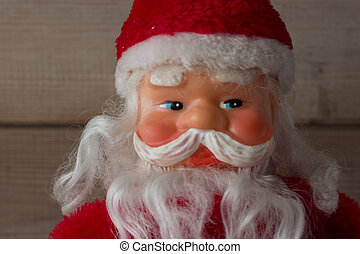 face of Santa Claus