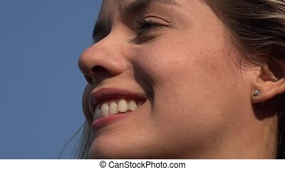 Face Of Smiling Woman