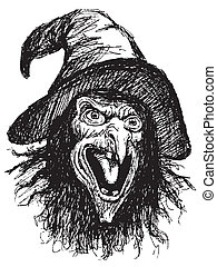 face of witch