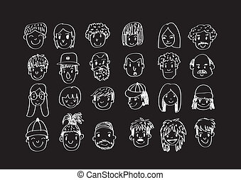 Face people