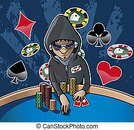 face poker