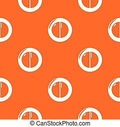 Face powder female pattern vector orange for any web design ...