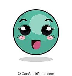 face smile happy emoticon icon