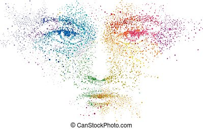Face Vision Pointilism