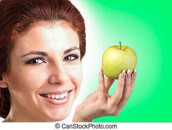 White Smile healthy Teeth