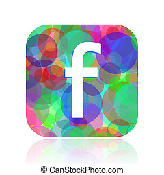 facebook, icono