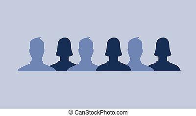 facebook, perfiles