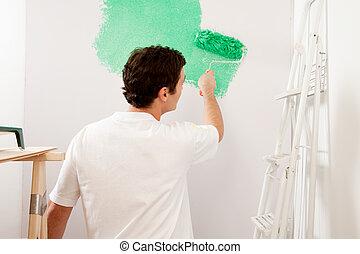 faceless, pintor