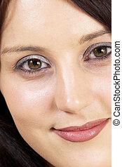 Faces #6 - Womans Face - Close-up