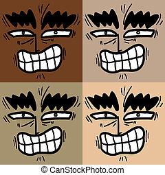 Faces color