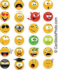 faces, smiley