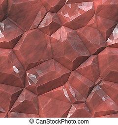 facetas, cristalino, mineral, textura