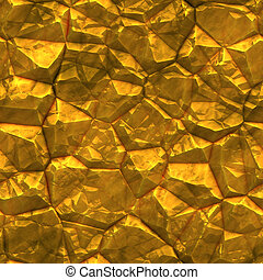 Faceted ore deposits