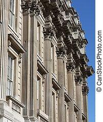 fachada de edificio, whitehall