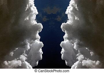 facing clouds
