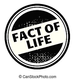 fact of life advertising sticker