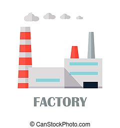 Factory Building in Flat