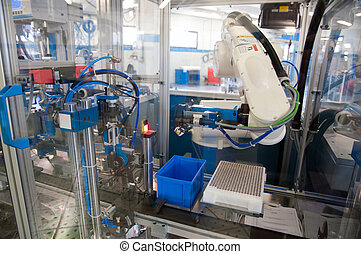 In this plant are builds machines and modules for the automation of assembly processes in all main segments of industry: electromecanics, automotive and in the production of accessories for furniture.