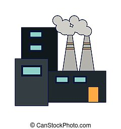 Factory building symbol