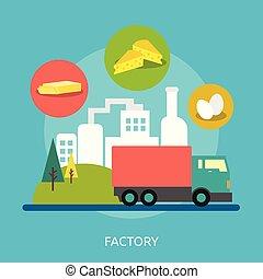 Factory Conceptual illustration Design