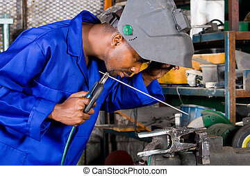 factory dělník