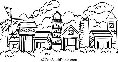 factory doodle