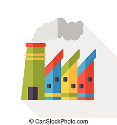 factory flat icon