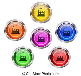 Factory Icon Button
