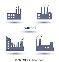 factory icon set