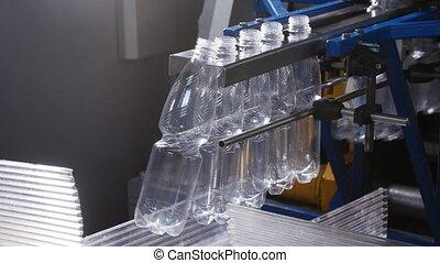 Factory of plastic bottles