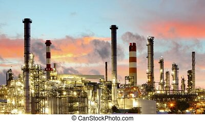 Factory - oil and gas industry, Tim