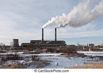 Factory or plant