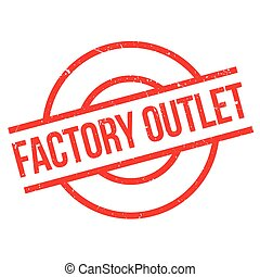 Factory Outlet rubber stamp