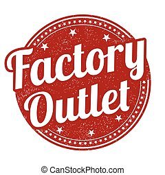 Factory outlet stamp