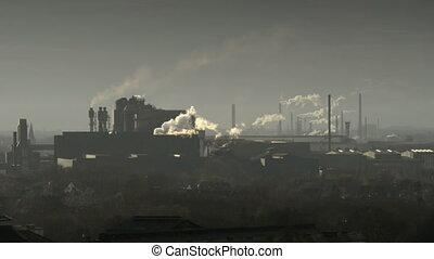 factory pollution coal scuttle
