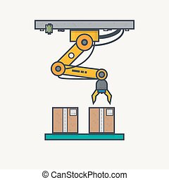 Factory robotic arm