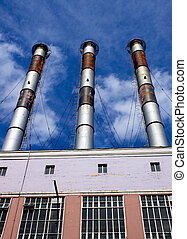 factory towers