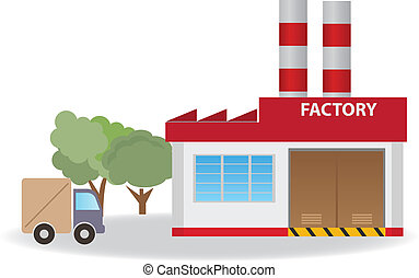 Factory. Vector for you design