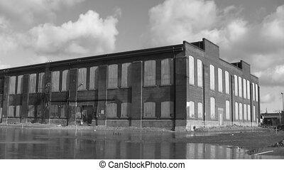factory., w., timelapse., b, abandonnés