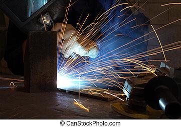 Factory welder