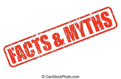 Facts and Myths red stamp