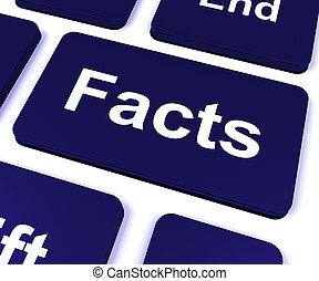 Facts Key Shows True Information And Data