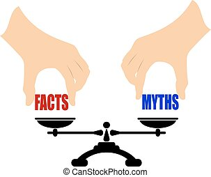 Facts myths icon